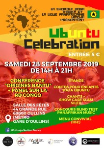 Ubuntu celebration affiche