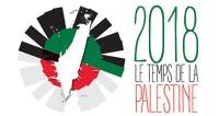 2018 le temps de la palestine